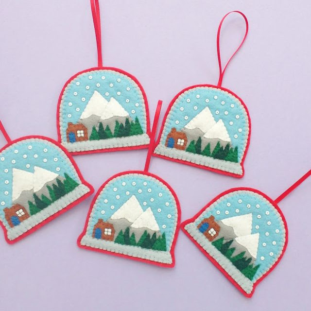 http://bugsandfishes.blogspot.co.uk/2013/12/how-to-felt-snow-globe-ornament.html