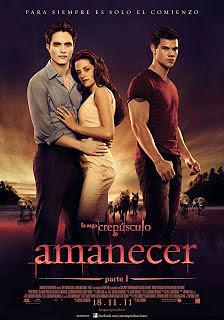 Cartel: La saga Crepúsculo: Amanecer - Parte 1 (2011)