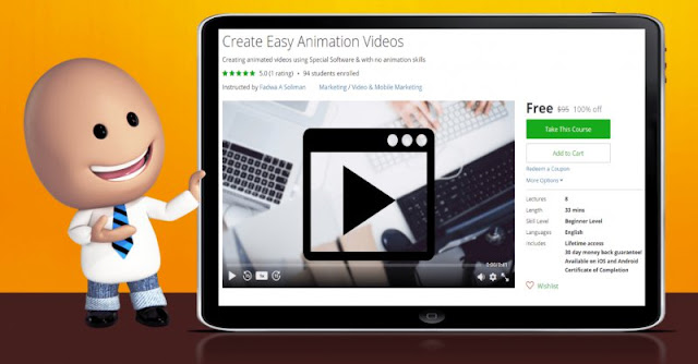 [100% Off] Create Easy Animation Videos| Worth 95$