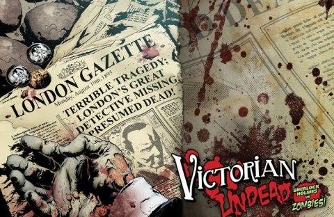 Victorian Undead 1 / Sherlock Holmes vs Zombies