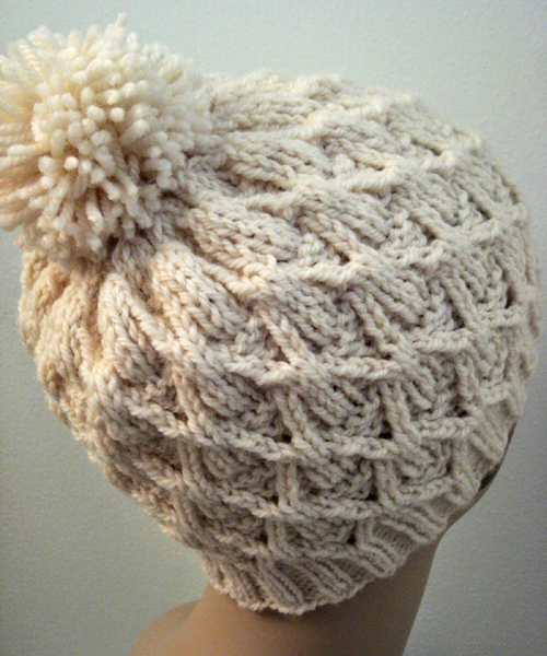Wickerwork Hat - Free Pattern