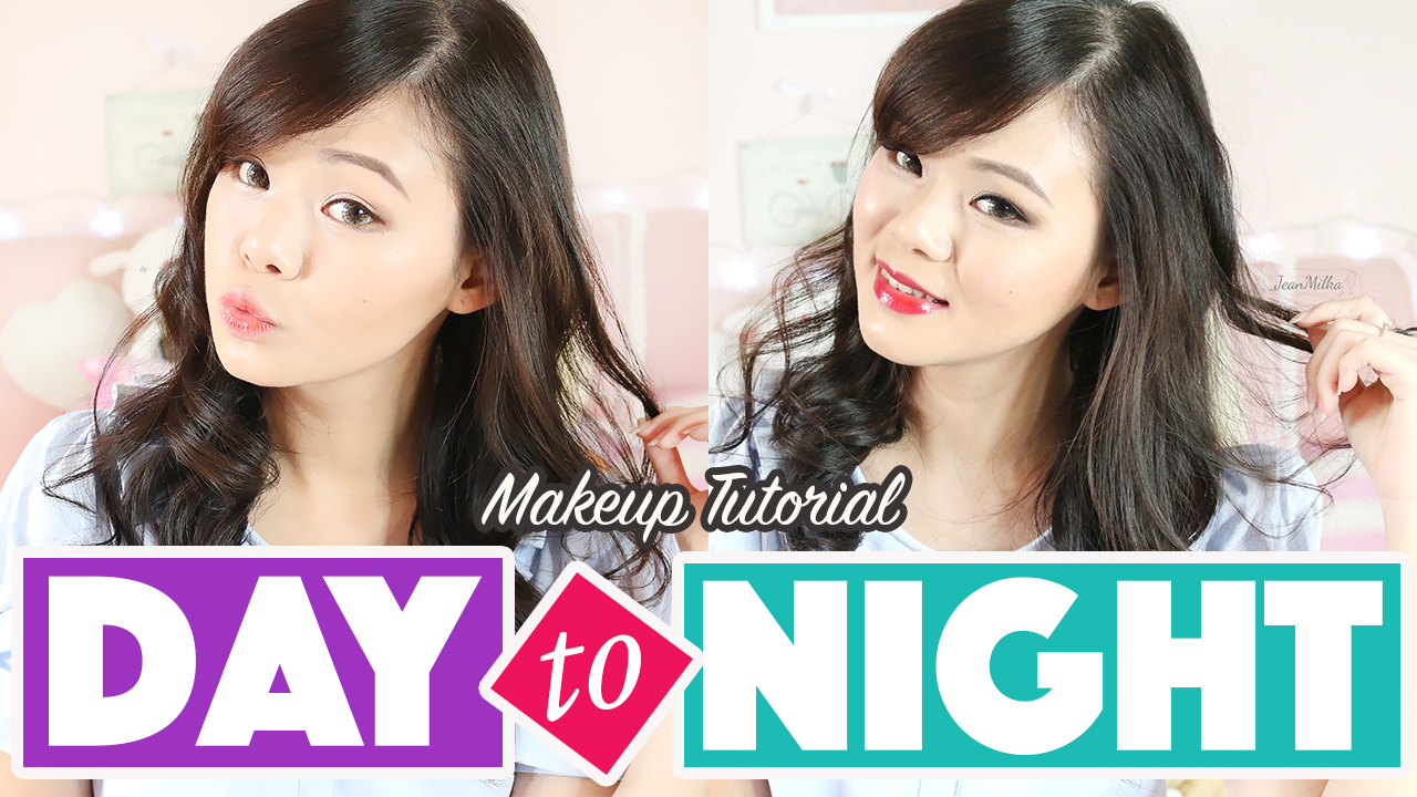 day to night makeup, day to night, makeup tutorial, day to night makeup tutorial, makeup tutorial, easy makeup tutorial, korean makeup, makeup korea, jean milka, jeanmilka, makeup untuk pemula, beauty, makeup, beauty blogger indonesia