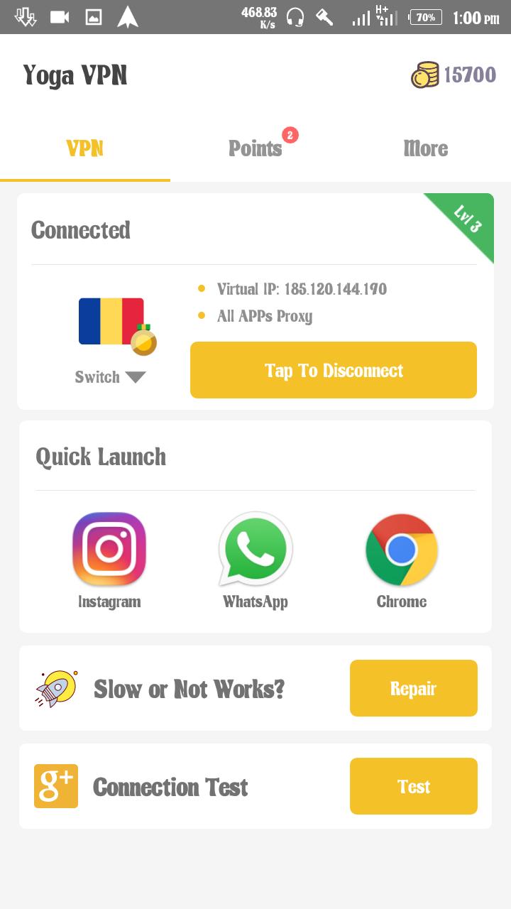 Download Unlimitedly Using Yoga Vpn And Amaze Vpn On 9mobile