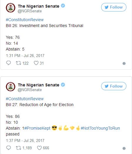 Nigerian-Senate-Review-1999-Constitution