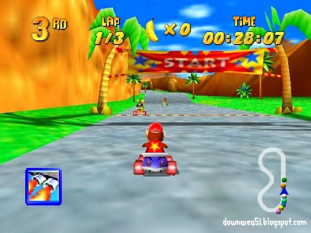 Diddykong Racing Nintendo 64