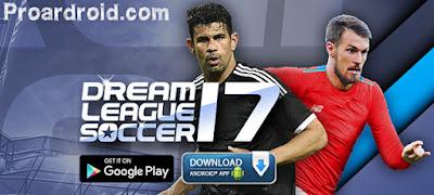 تحميل لعبة Dream League Soccer 2017 v4.01 مهكرة كاملة للاندرويد (اخر اصدار) 195.9 MB