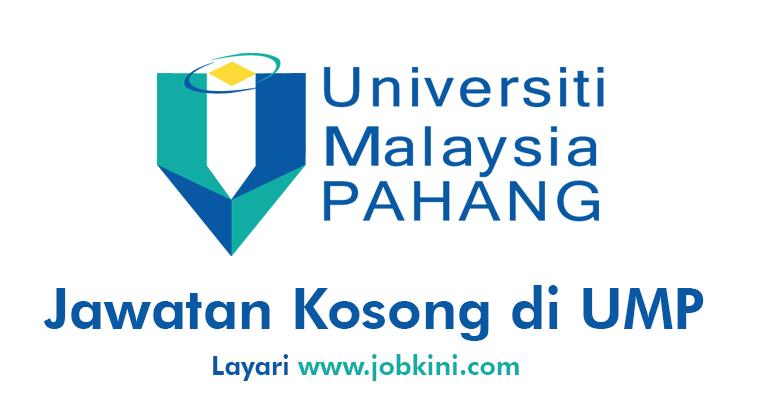 Kekosongan Terkini di Universiti Malaysia Pahang UMP