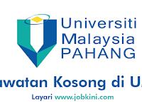 Kekosongan Terkini di Universiti Malaysia Pahang UMP - Pelbagai Jawatan Dibuka