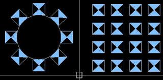 perintah array masih tergolong dasar dalam autocad  Cara Menggunakan Perintah Array Autocad