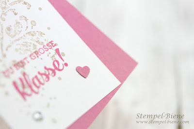 Geschenke Stampinup; Teamgeschenke; Geschenkanhänger basteln; Lesezeichen basteln; stampinupchallenge; stempel-biene