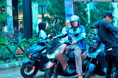 Test ride di ajang MAXI Yamaha & Sport Expo
