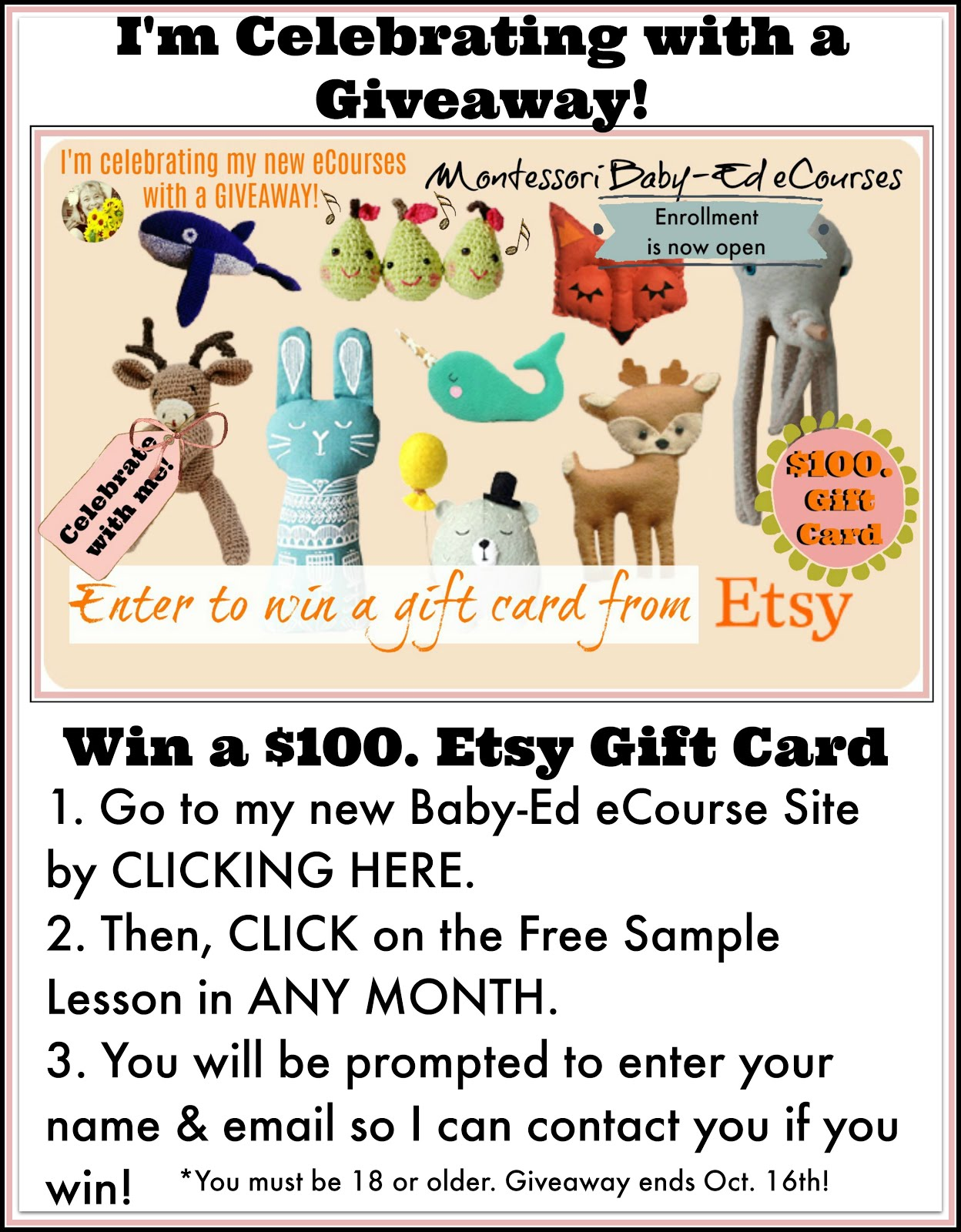 $100. Etsy Gift Card Giveaway