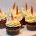 Einhorn Cupcakes von Sissis Tortenträume - Feines Handwerk feiert 4ten Bloggeburstag