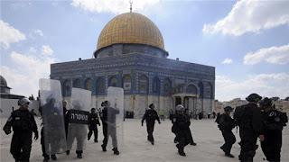 سال دوہزارسولہ میں تقریباً پندرہ ہزاراسرائیلیوں نے مسجد اقصیٰ کی بے حرمتی کی