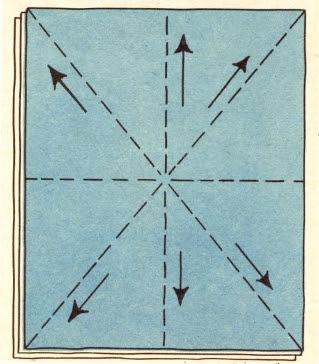 направление стежки лоскутного одеяла