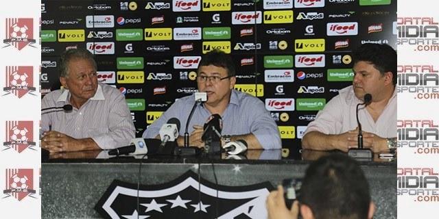 Dirigentes do Ceará anunciam acerto com Esporte Interativo