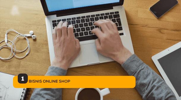 1. Bisnis Online Shop