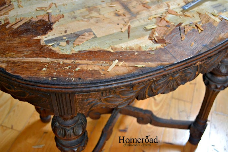 Beautiful Carved Table Repairs