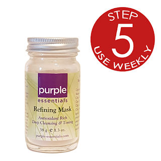 Purple Essentials' All Natural Refining Facial Mask