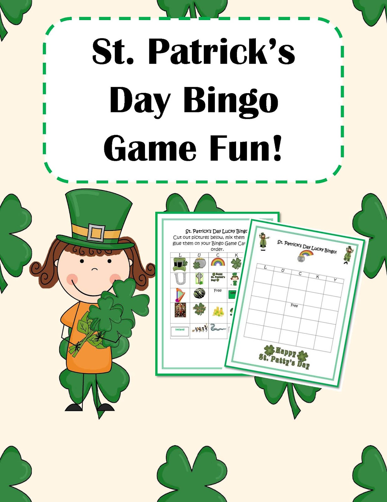 Engaging Lessons And Activities St Patrick S Day Bingo Game
