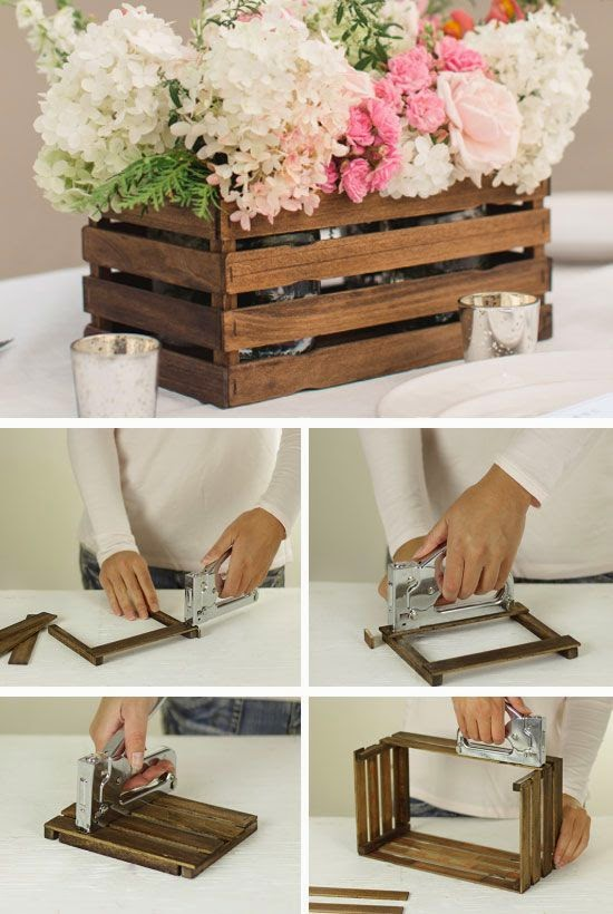 passo a passo de lembrancinhas diy lembrancinha com caixote r stico para casamento. Black Bedroom Furniture Sets. Home Design Ideas
