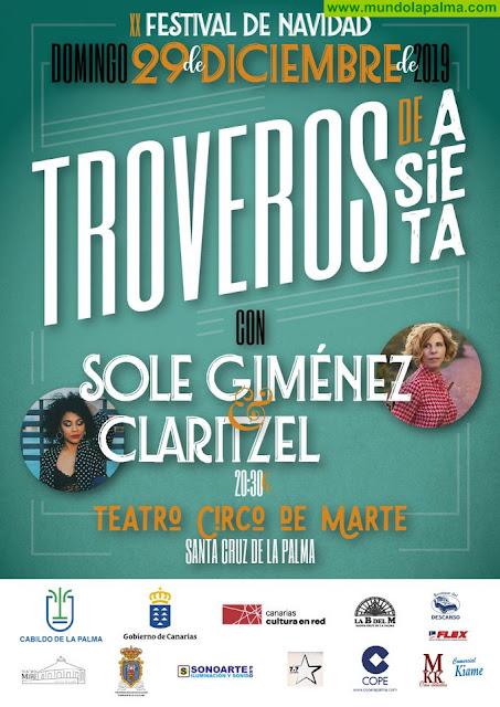 'Troveros de Asieta' celebra la XX edición de su Festival de Navidad en Santa Cruz de La Palma