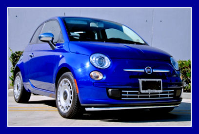 5ooblog | FIAT 5oo: New Fiat 500 US with Chrome Accessories