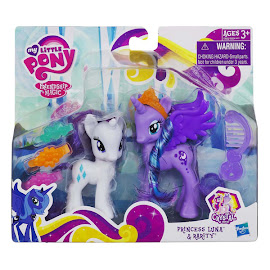 MLP Crystal Princess 2-pack Princess Luna Brushable Pony