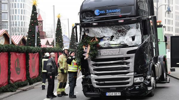 Camión ataque en Berlín