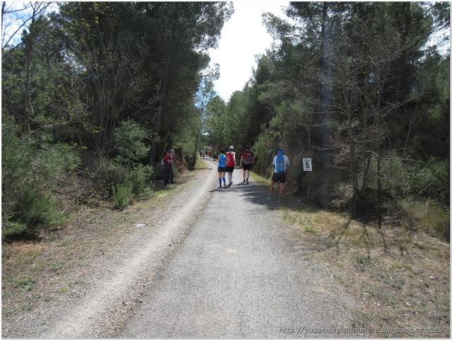 Seguimos adelantando puesto, últimos 6 km.
