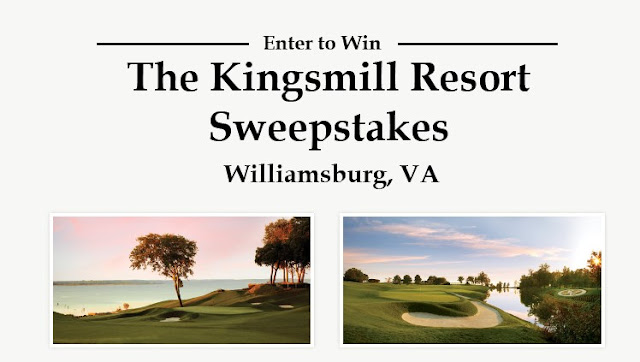 Golf Pac Travel wants you to enter as often as you like for a chance to win a golfing trip for yourself and three golfer friends to the Kingsmill Resort located in Williamsburg, Virginia!