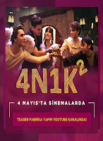 4n1k - 2 afiş, 4n1k 2 film afişi, 4n1k 2 oyuncu kadrosu