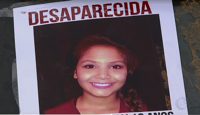 Menina está desaparecida desde o dia 8 de junho em Araçariguama (SP) (Foto: TV TEM/Reprodução)