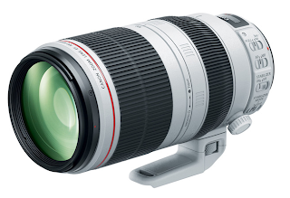 New Canon Super-Telephoto Zoom Lens - EF 100-400mm f/4.5-5.6L IS II USM