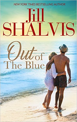 jill shalvis, out of the blue, book review