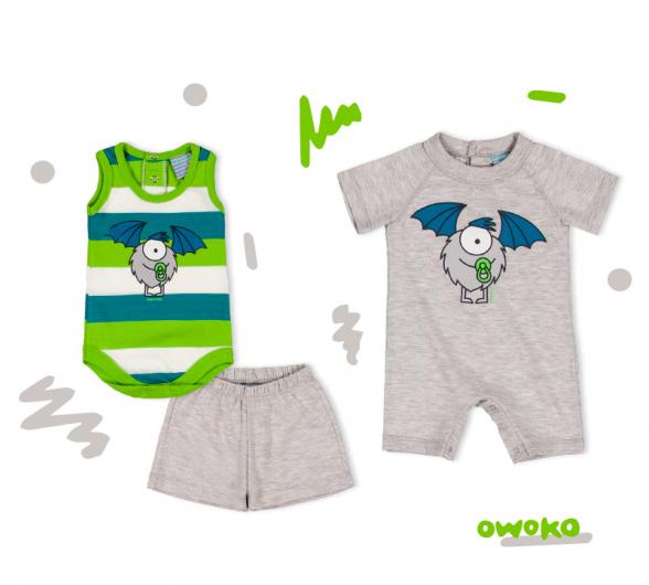 Bodies, shorts y enteritos para bebes verano 2018.