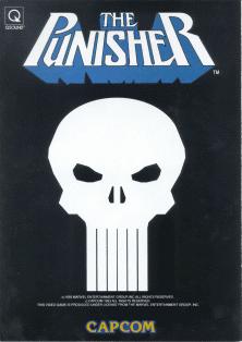 The Punischer+arcade+game+retro+beat'em up+portable+art+flyer