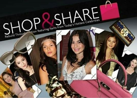 Throwback: When Angel Locsin And Her Celebrity Friends Created 'Shop&Share' To Help The Typhoon Victims