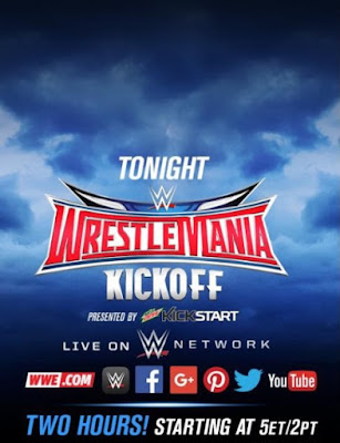 WWE WrestleMania 32 2016 Kickoff WEBRip  450mb wwe tv show WWE Hall of Fame compressed small size free download or watch online at world4ufree.org