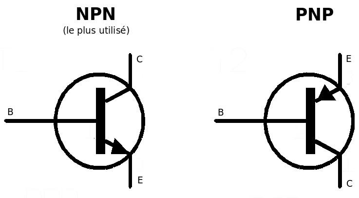 Quelques r visions sur les transistors part 2 mchobby for Le transistor