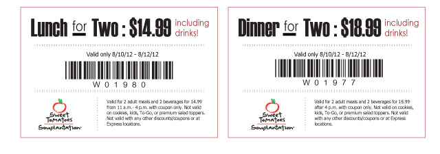 graphic regarding Sweet Tomatoes Printable Coupons named Arizona Family members: Lovable Tomatoes Printable Discount coupons $14.99