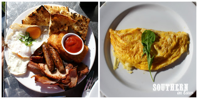 Coeliac Friendly Travel Reviews - Gluten Free Breakfast at The Olive Cafe Norfolk Island