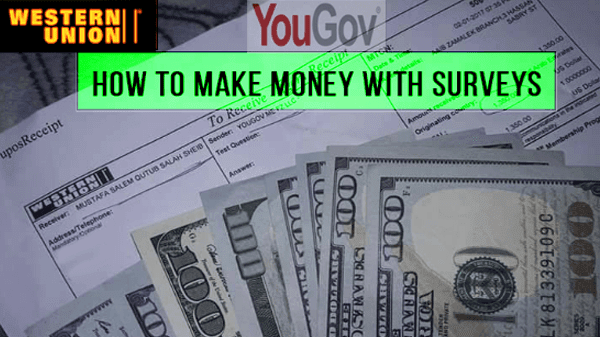 How To Make free Money With Surveys a tutorial on YouGov com 2019