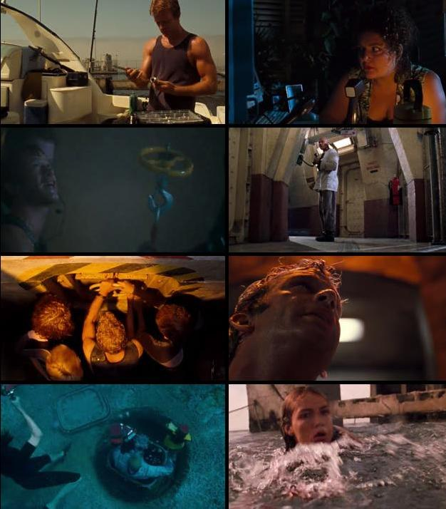 Deep Blue Sea 1999 Dual Audio Hindi 720p BRRip