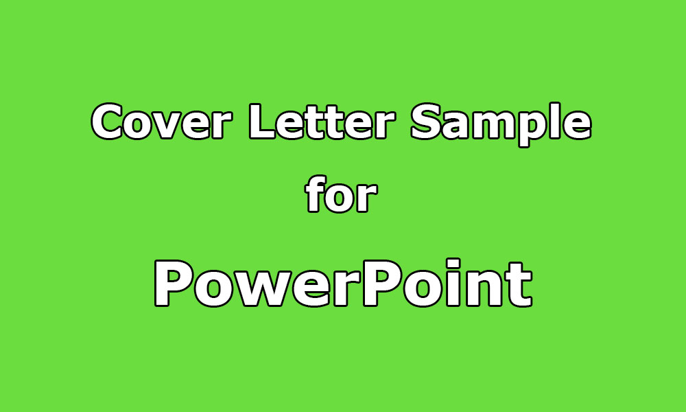 Cover letter sample for ms powerpoint presentation upwork help cover letter sample for ms powerpoint presentation thecheapjerseys Images