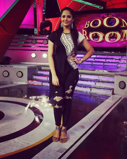 Anchor Anasuya in Boom Boom Show Stills