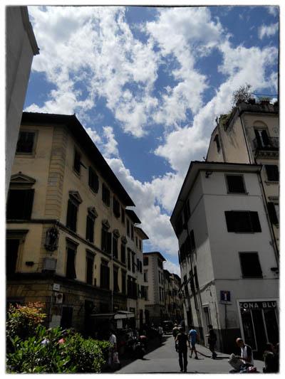 フィレンツェ街角