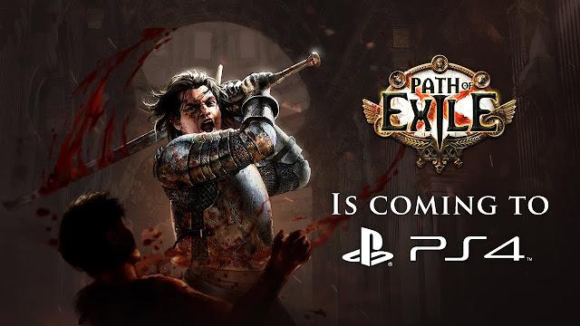 La versión para PS4 de Path of Exile se lanzará finalmente el próximo 26 de marzo