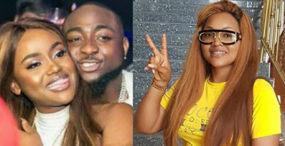 mercy aigbe davido chioma manager