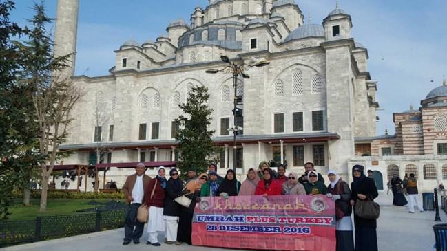 Jamaah Umroh Plus Turki Bulan Desember